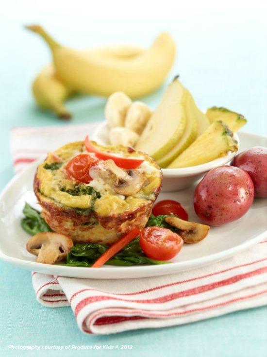 Florentine Egg Muffins
