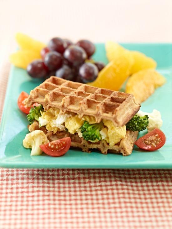 Scrambled Waffle-wich