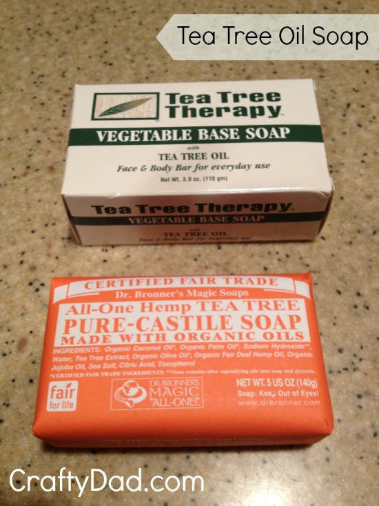 Bars of Tea Tree Oil Soap