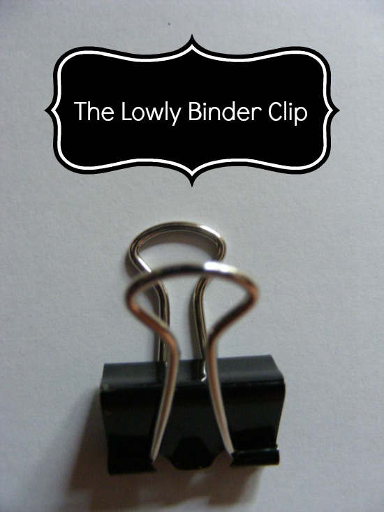The lowly binder clip