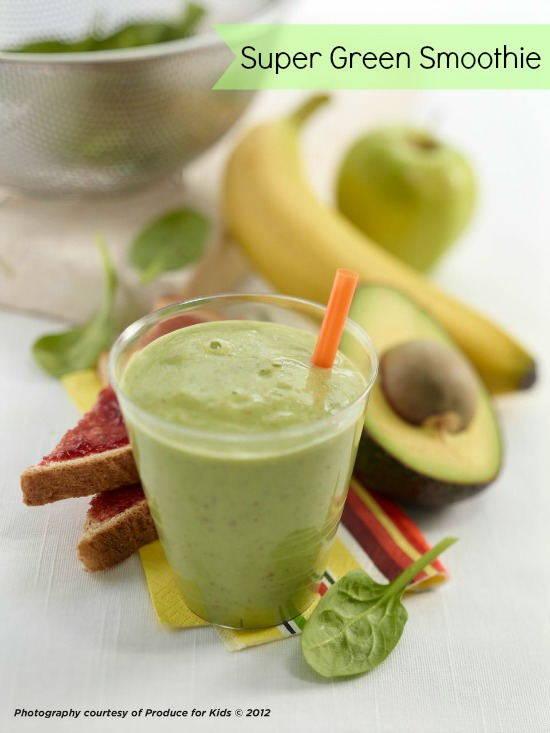 Super Spinach Smoothie Recipe — Dishmaps