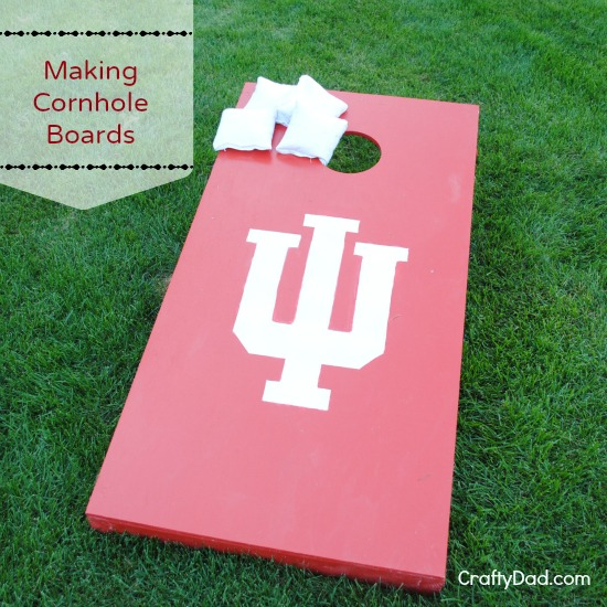 Making Corn Hole Boards