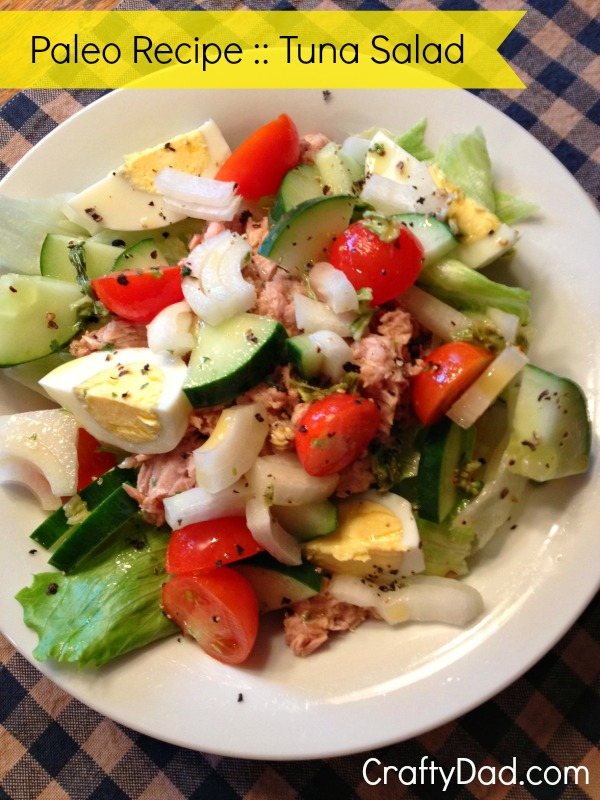 Tuna Breakfast Salad