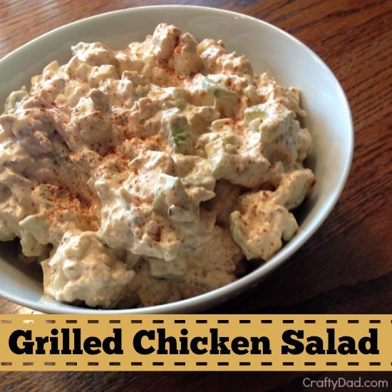 grilled chicken salad 550