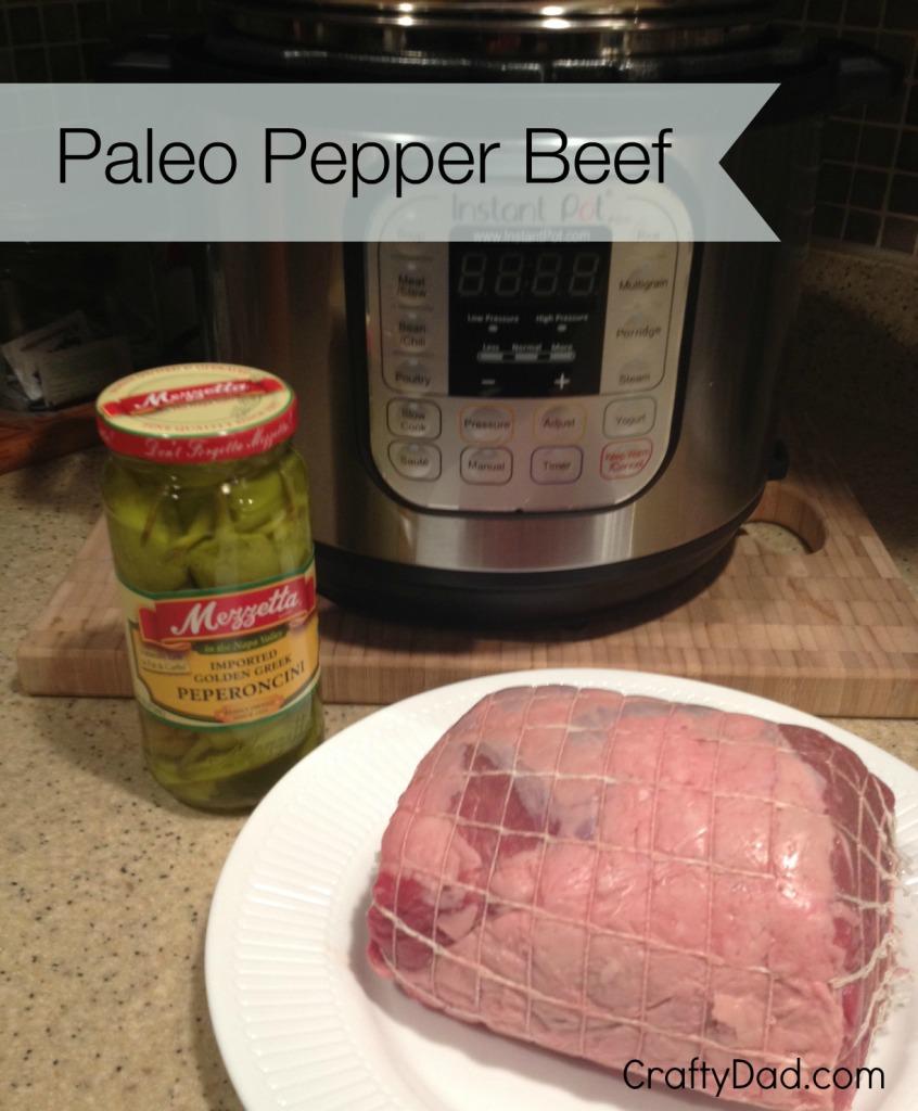 Pepper Beef Ingredients