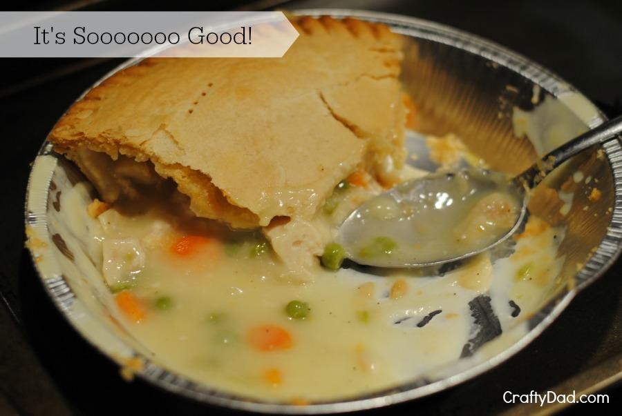 Chicken Pot Pie almost gone