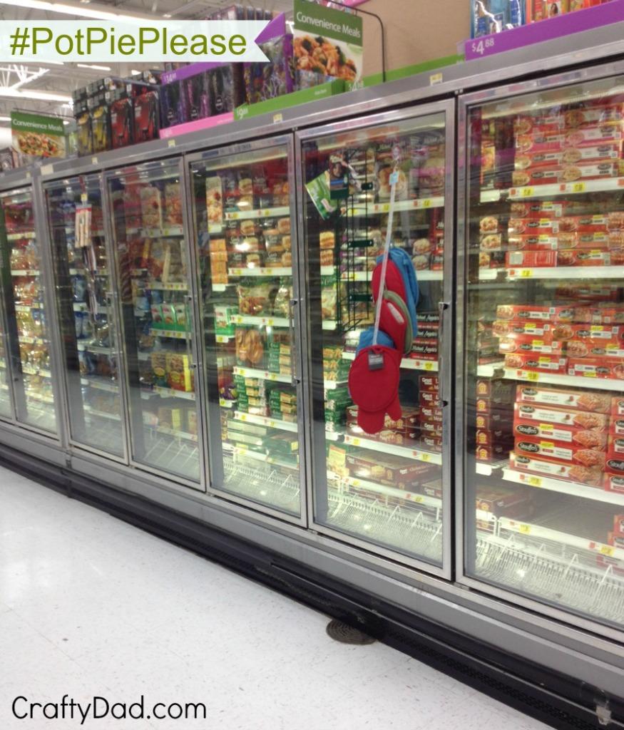 Convenience Meals aisle at Walmart