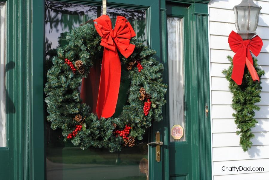 Front Door Wreath 2014
