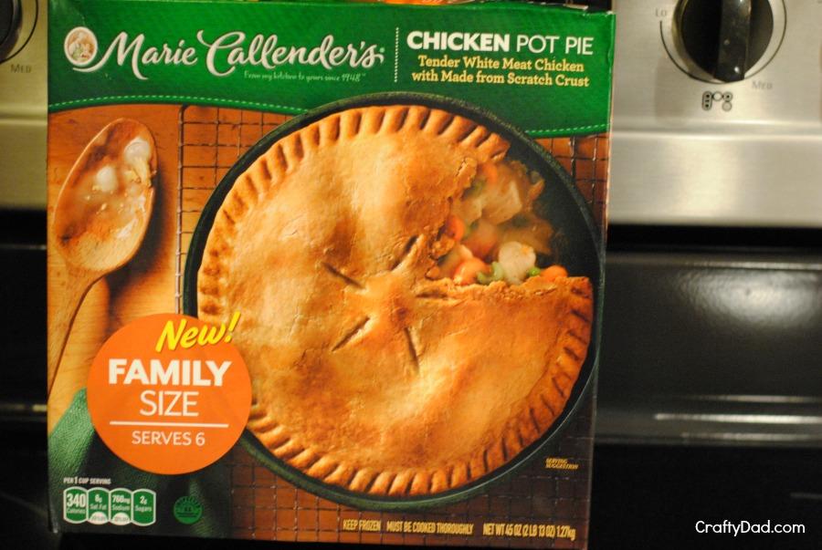 Marie Callender's Chicken Pot Pie Box