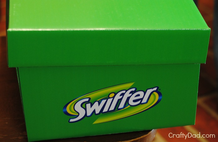 Big Green Swiffer Box