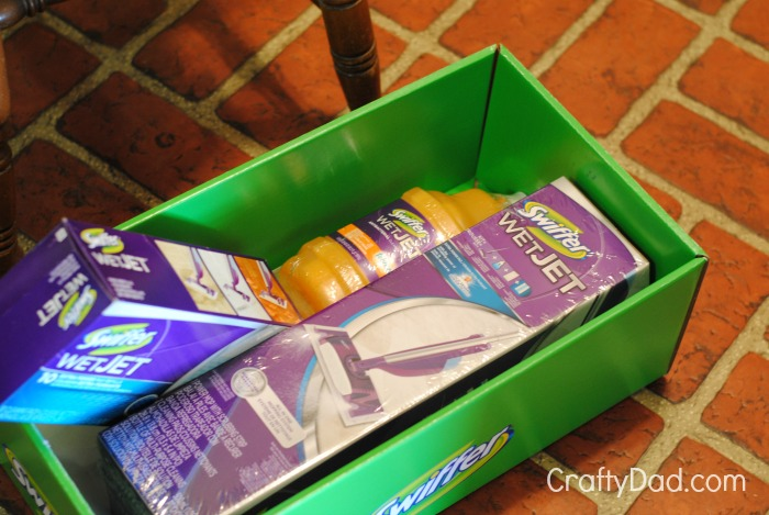 Contents of Swiffer Box