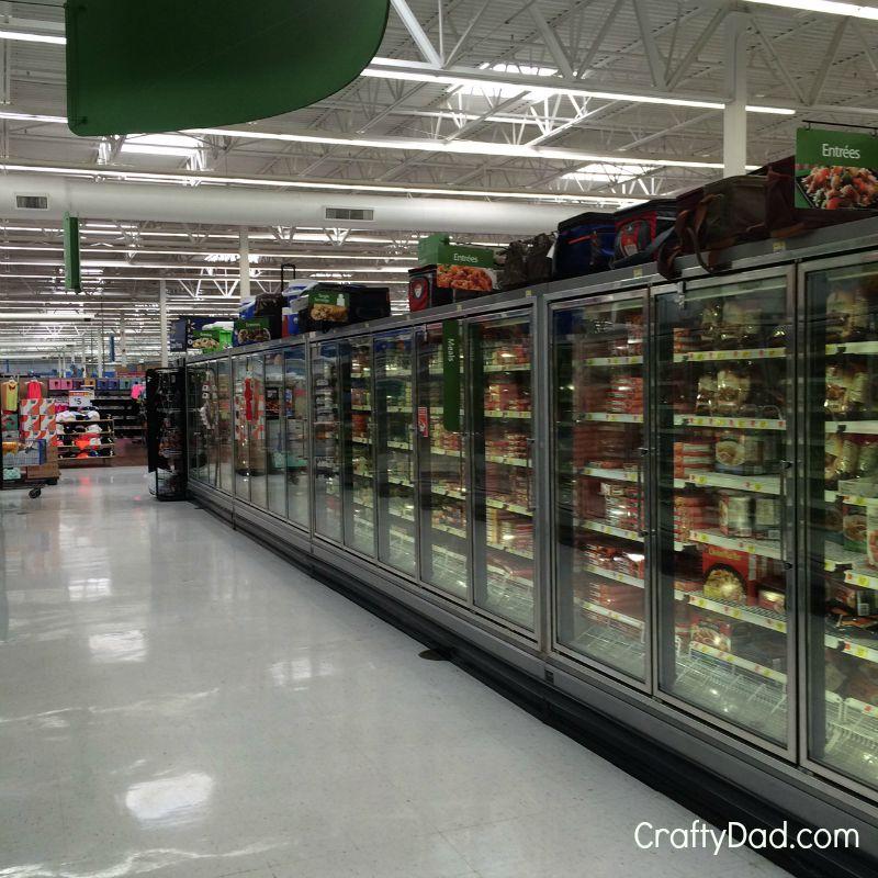 FrozenEntreeSectionAtWalmart