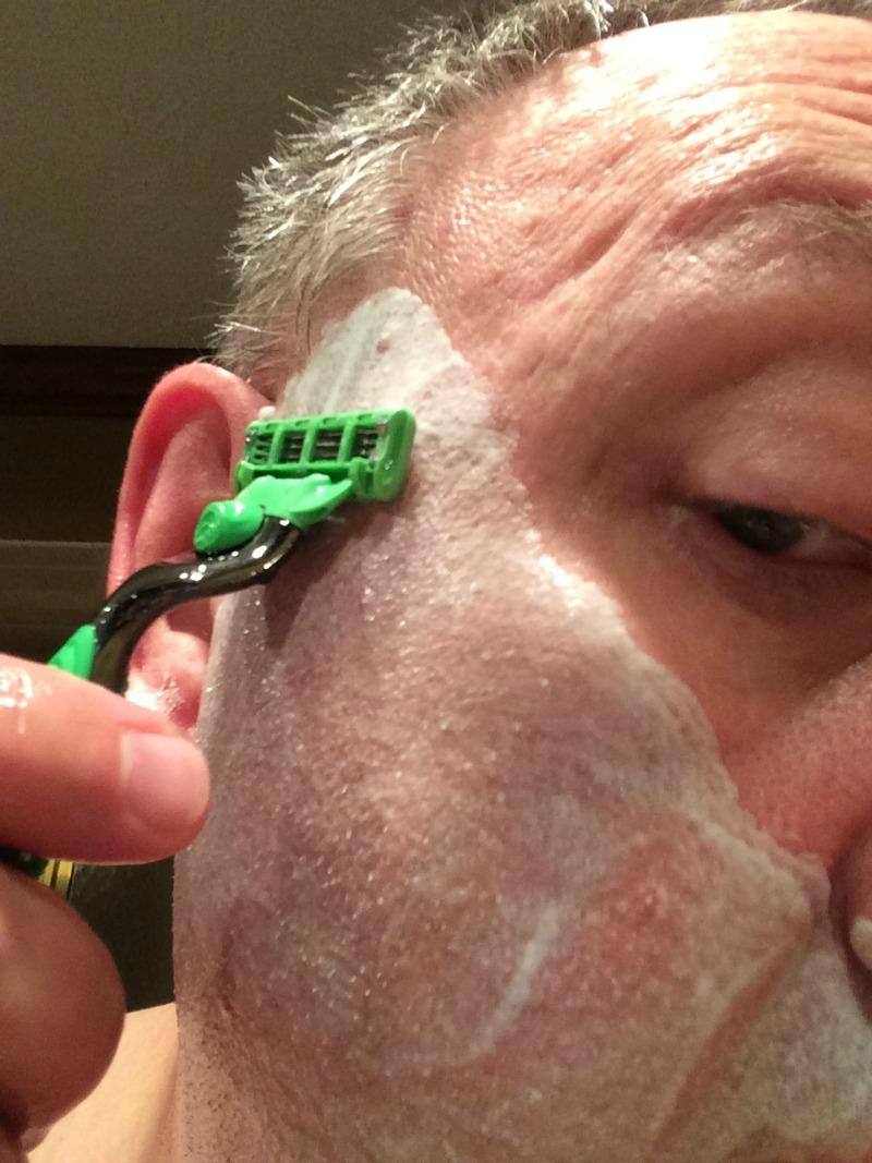 shaving_pass_one